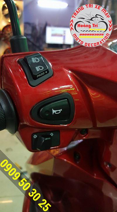 Giờ đây Happy Vision (Vision 2014) cũng được trang bị Passing chính hãng Honda