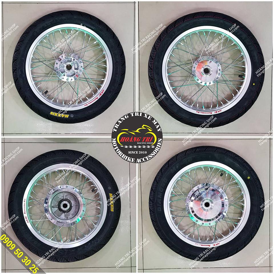 Một số mẫu bánh căm của xe Vision kèm theo vỏ Maxxis
