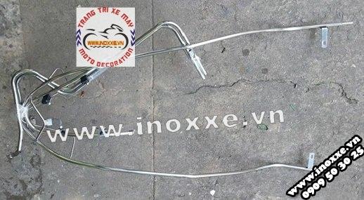 Cận cảnh khung bảo vệ inox Vision