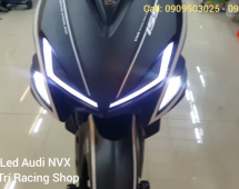 Video độ đèn Led Audi NVX