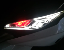 Led audi exciter 135cc 2016