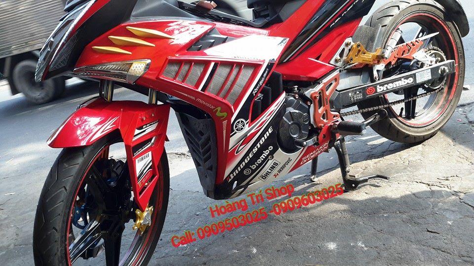 Dè trước phong cách Ducati cho Exciter 150 4