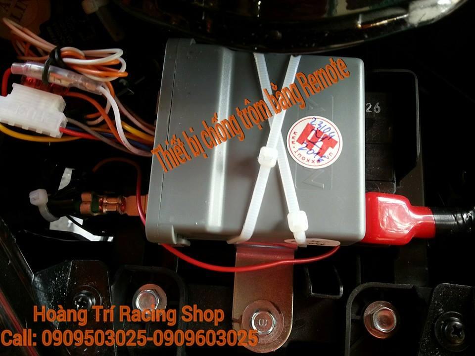 khóa chống trộm bằng remote aolin 1
