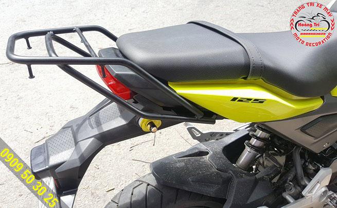 Cận cảnh cản sau Honda MSX đã được lắp đặt trên xe
