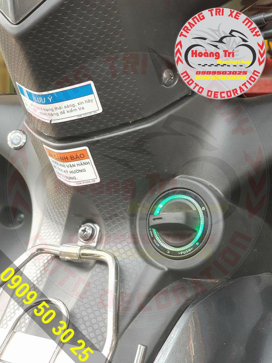 Cận cảnh khóa smartkey FarmLand giống với khóa thông minh Honda
