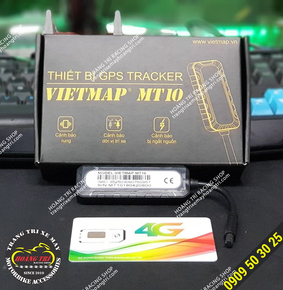 Trọn bộ thiết bị định vị VietMap MT10