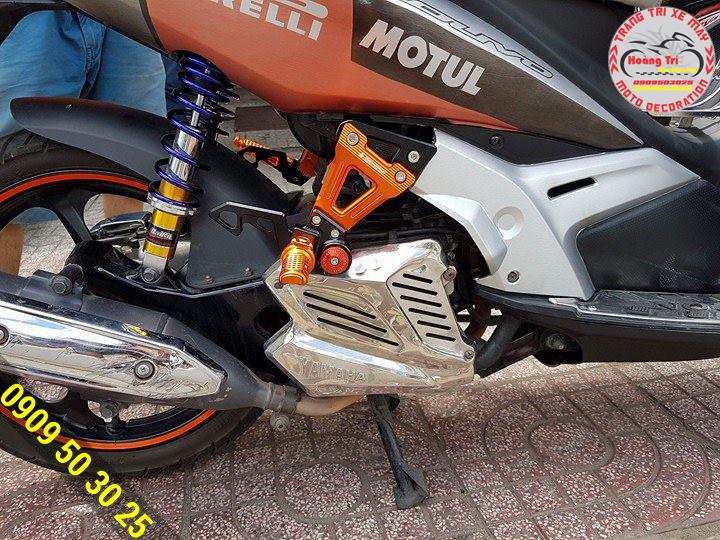 Gác chân Biker được làm từ công nghệ CNC