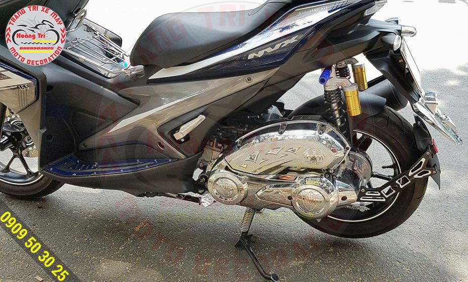 Thêm một em NVX lắp đặt chắn bùn Moto Racing tại shop