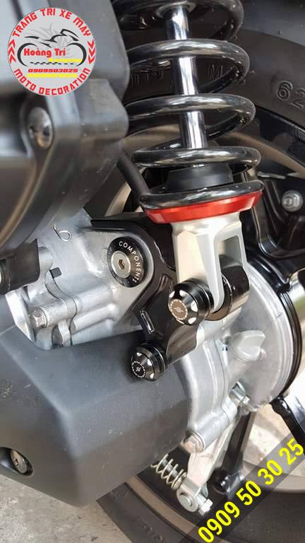 Chụp ốc giúp chống sét cho các ốc zin theo xe