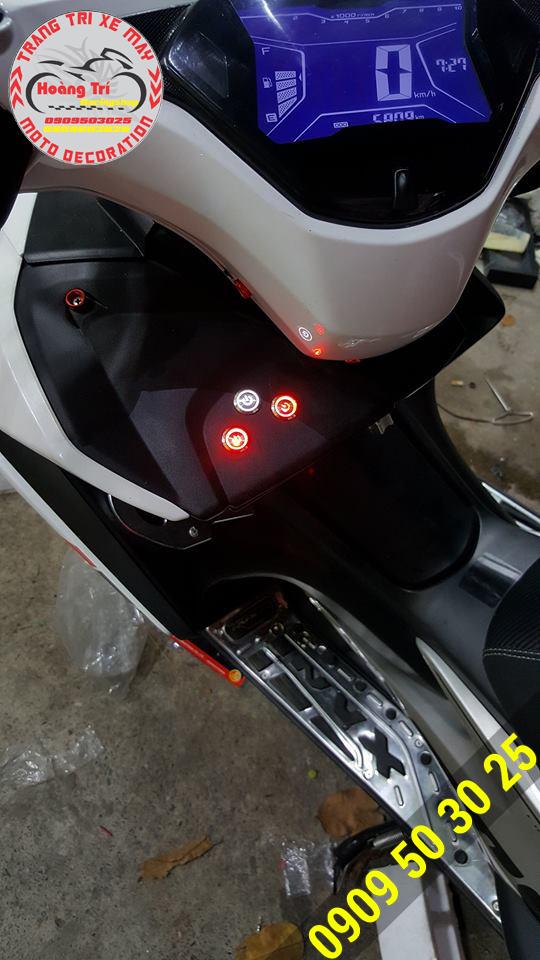 Công tắc led giúp on/off đèn trên xe máy