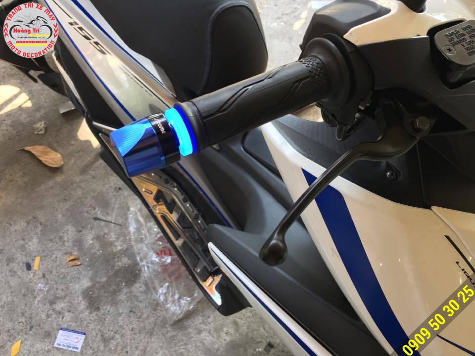 Led xanh + gù xanh tông sẹc tông đi kèm bộ tem phản quang là cực cool