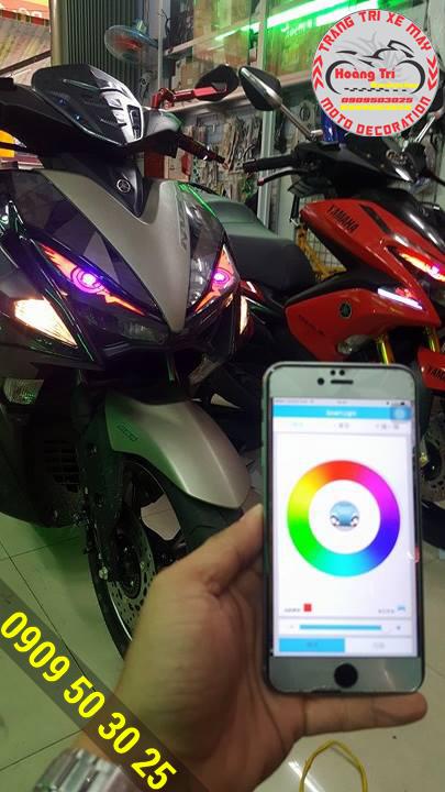 Chọn màu và đổi màu trực tiếp trên điện thoại