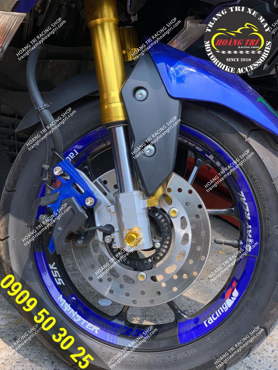 Phuộc upside down Ride it đã được gắn trên NVX