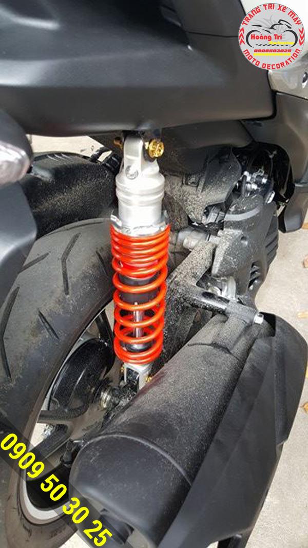 Cận cảnh phuộc Racing Boy - thương hiệu uy tín trong đồ chơi xe máy