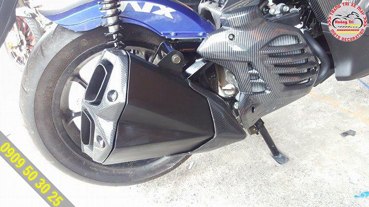 Thiết kế pô Z1000 dường như dành cho NVX