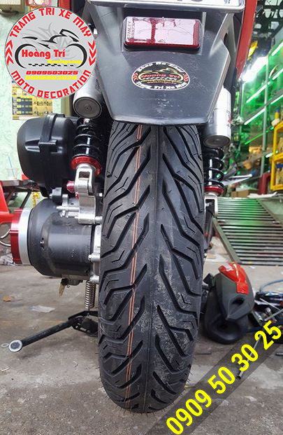 Lằn gạch màu cam báo hiệu khi nào bạn cần thay lốp mới