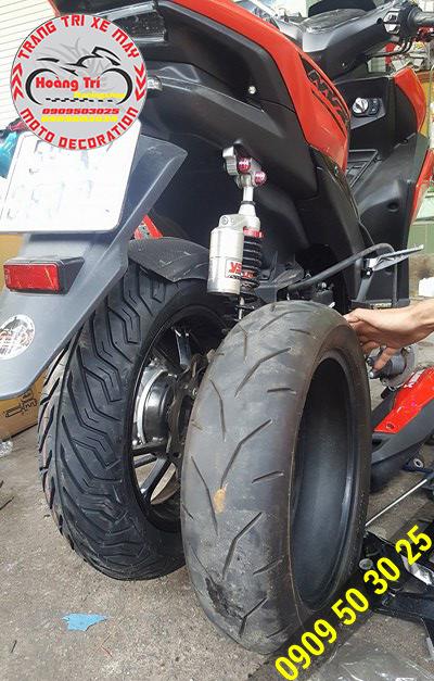 Lốp xe Michelin đã được thay thể cho lốp xe của hãng