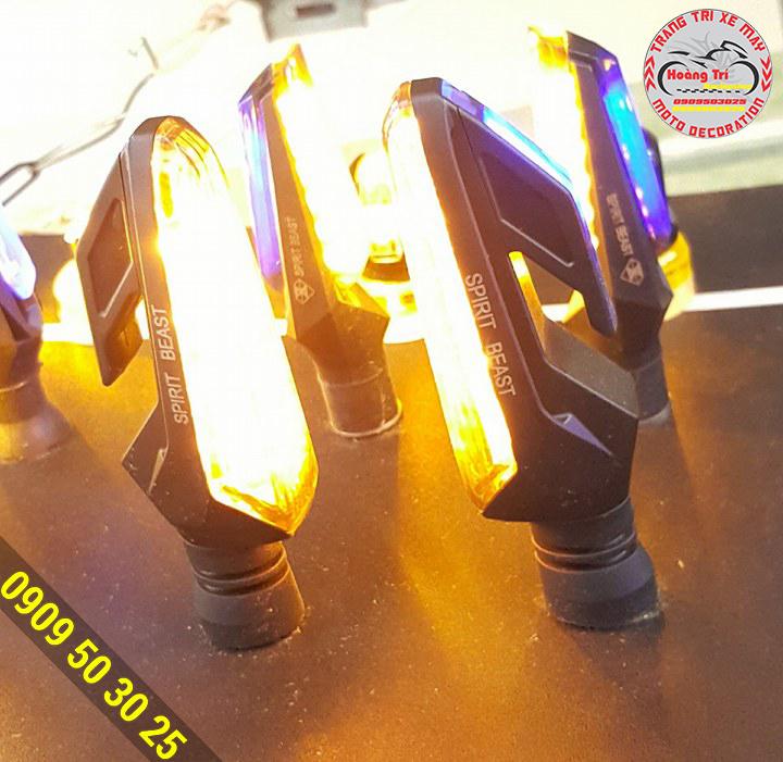 xi nhan Spirit Beast led 2 chiều phiên bản 2