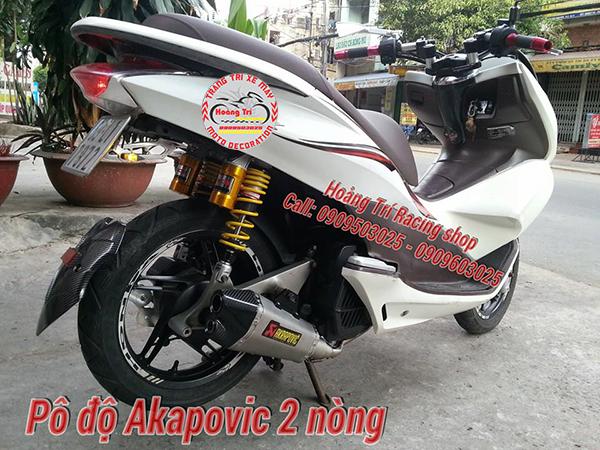 Pô 2 nòng Akapovic 1