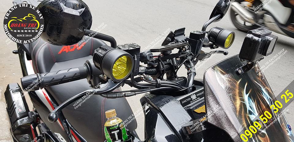 Cận cảnh chi tiết đèn Kenzo 40 (Đèn L4 hàng cao cấp)
