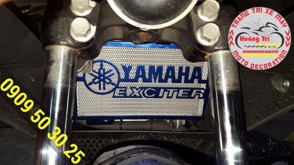 Cận cảnh lưới che bảo vệ két nước Exciter 150