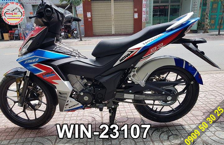 Tem HRC Winner 150 với mã số WIN-23107