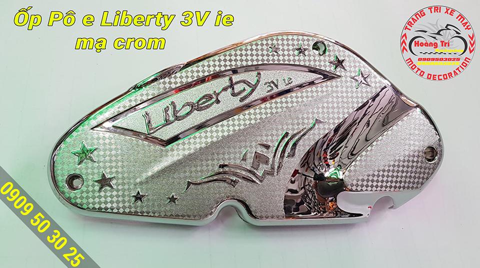 Ốp pô e mạ crom Liberty 3V
