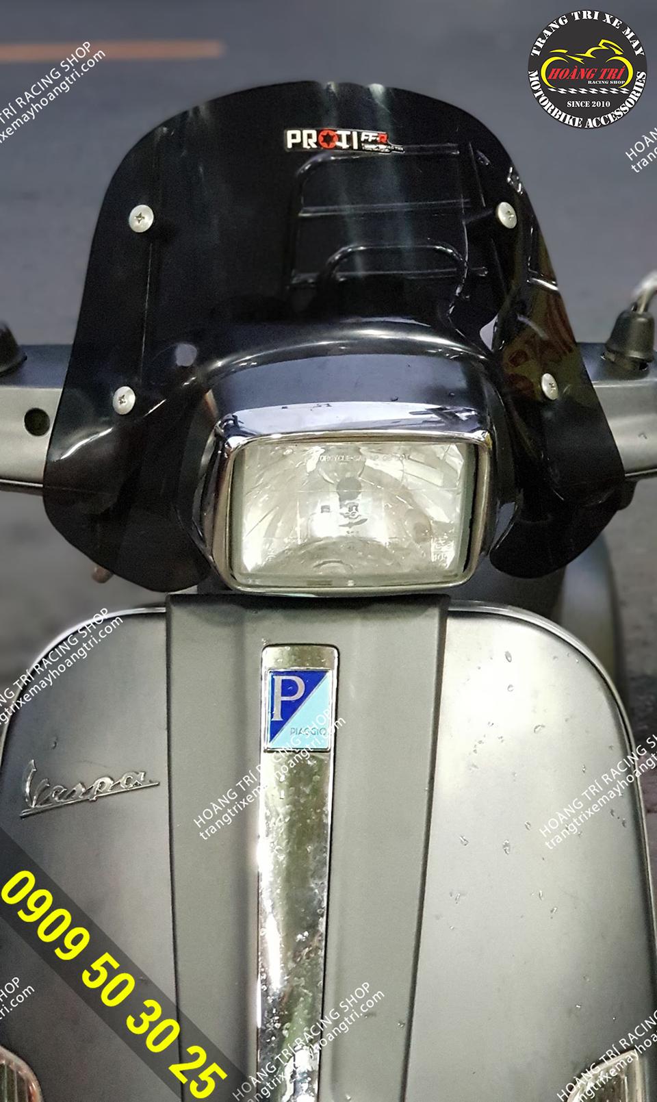 Kính chắn gió HTR độ xe Vespa S - Vespa LX