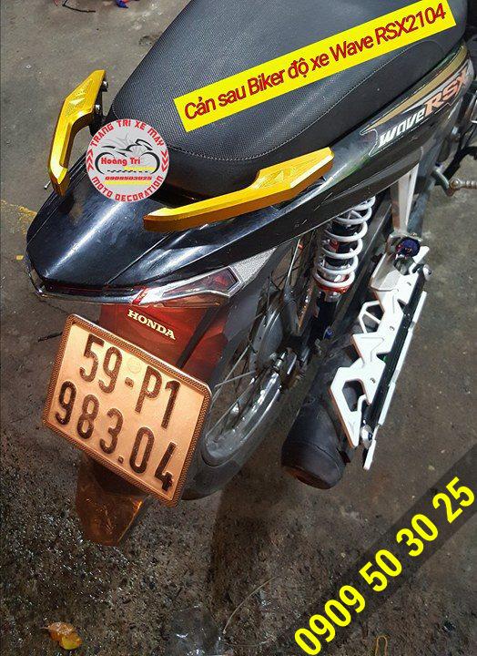 Càn sau Biker màu vàng được chọn để lên cho xế yêu