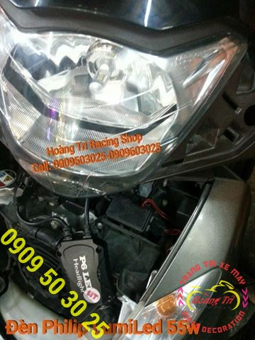 đèn Philip Lumiled 55w 6000k 5200 Lumens cho Sh Ý 1