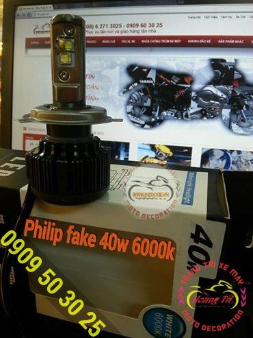 Đèn Philip fake 40w 6000K 1