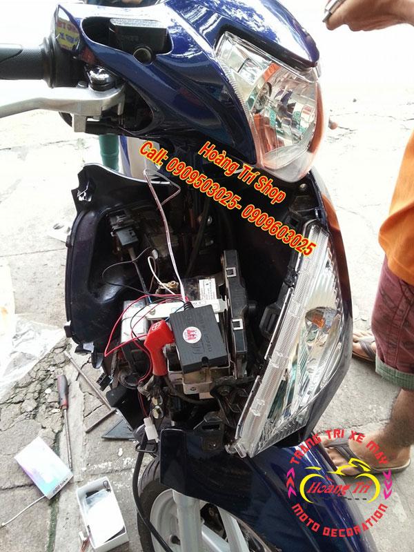 khóa chống trộm thông minh iky Biker 4