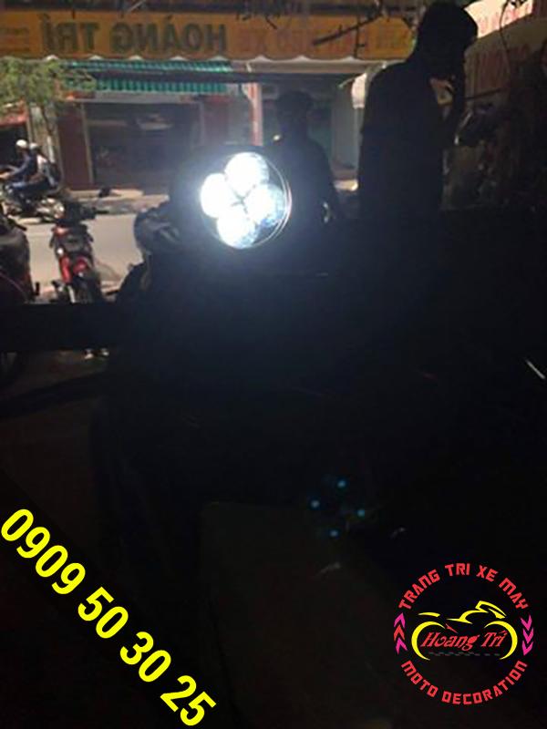 Độ đèn trợ sáng led Cree L4 cho Hoàng Trí Racing Shop 1
