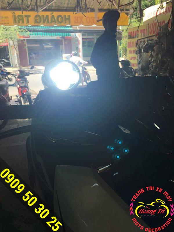Độ đèn trợ sáng led Cree L4 - Hoàng Trí Racing Shop 2