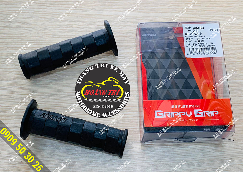 Trọn bộ full box bao tay Daytona Ftippy Grip