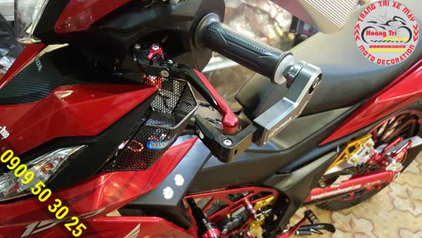 Bảo vệ tay thắng an toàn tuyệt đối và mang lại một phong cách mới cho xế