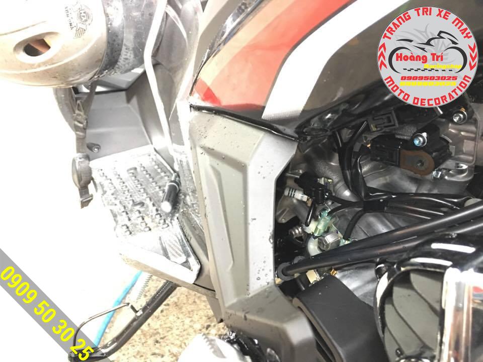 Đã thay thế xong cho xế yêu Airblade 2016