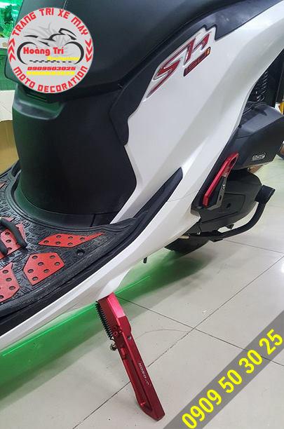 Tông sẹc tông cùng gác chân SH 2017