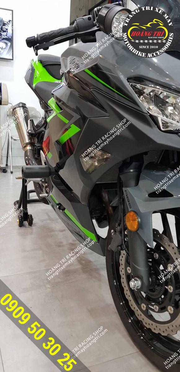 Sản phẩm đã được lắp trên Kawasaki Ninja 400