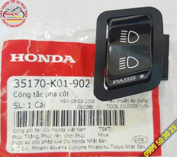 Công tắc Passing được ủy quyền trực tiếp từ Honda Nhật Bản
