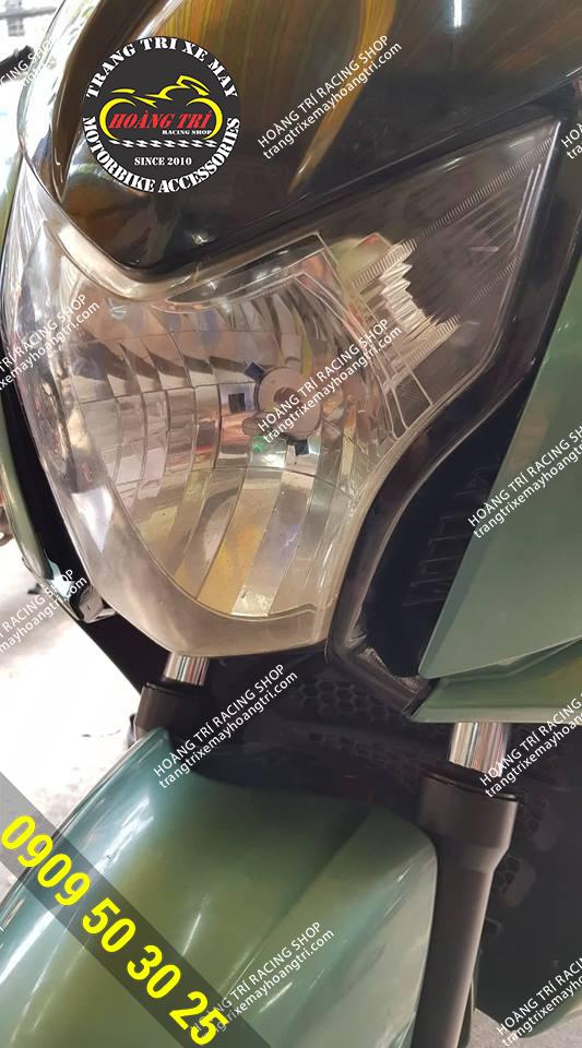 Cận cảnh sản phẩm đã được gắn trên xe HONDA FAZE 250cc