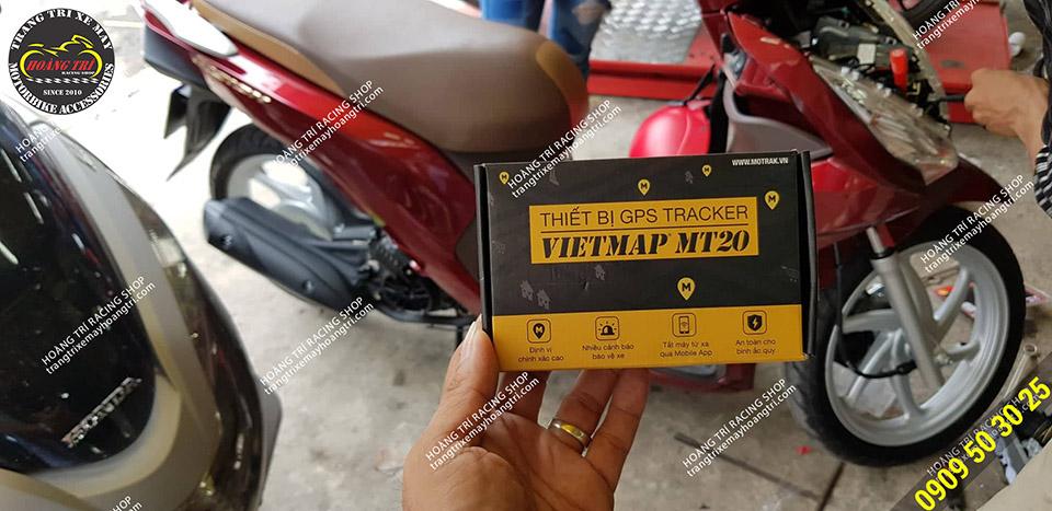 Full box hộp thiết bị định vị GPS Vietmap MT20