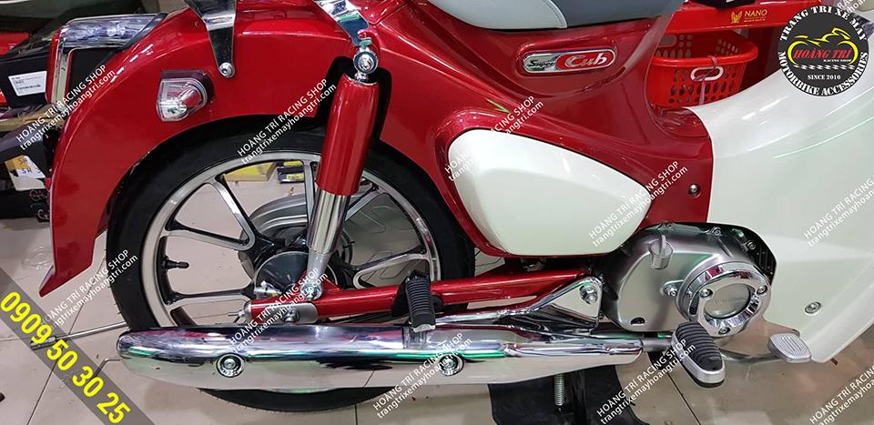 Sản phẩm đã được lắp đặt trên Super Cub 125cc