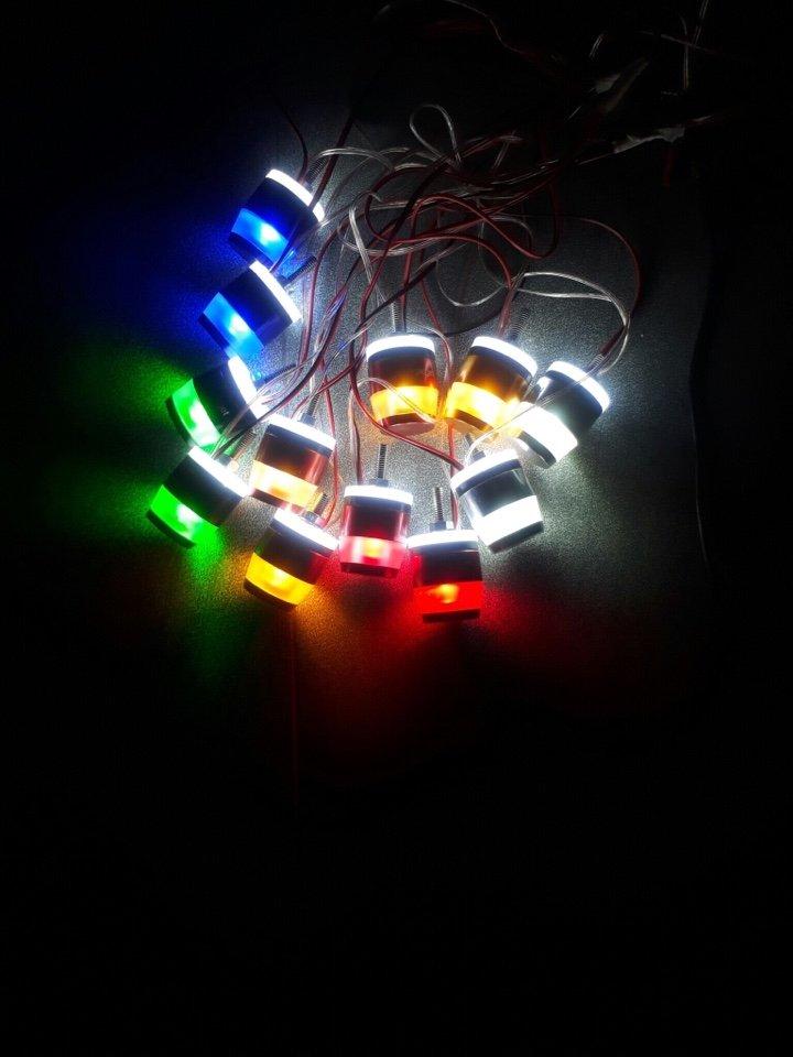 Gù led tay lái có đèn - Version 2 - Gù Motogadget