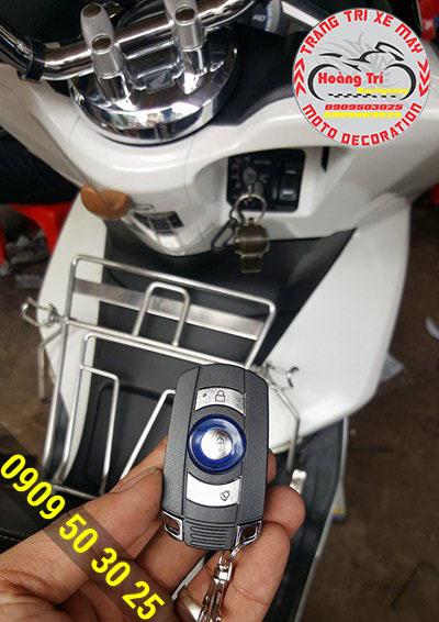 Bộ khóa Fast Lock được gắn cho PCX - an toàn tuyệt hảo