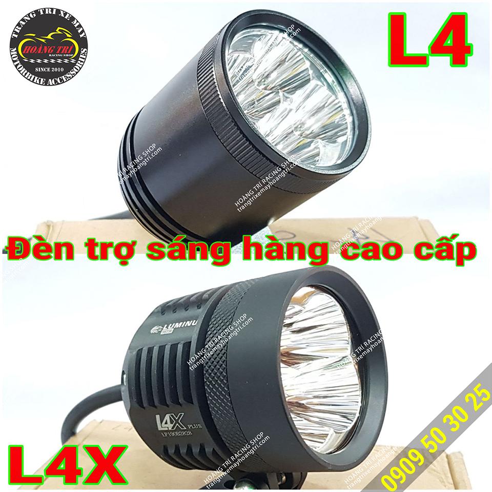 Đèn trợ sáng L4, L4X hàng cao cấp