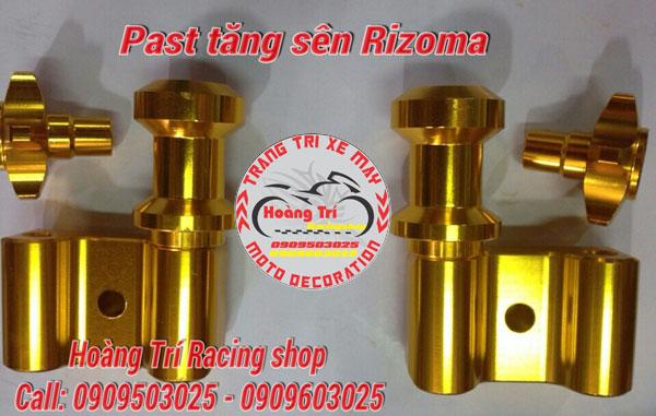 Past tăng sên Rizoma - màu vàng - nhiều màu sắc để lựa chọn