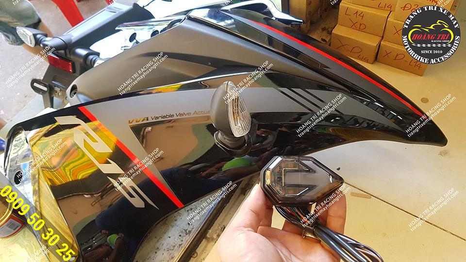 Sản phẩm đang chuẩn bị thay cho xe Yamaha R15