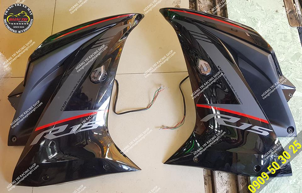 Đã lắp đặt trên yếm xe Yamaha R15