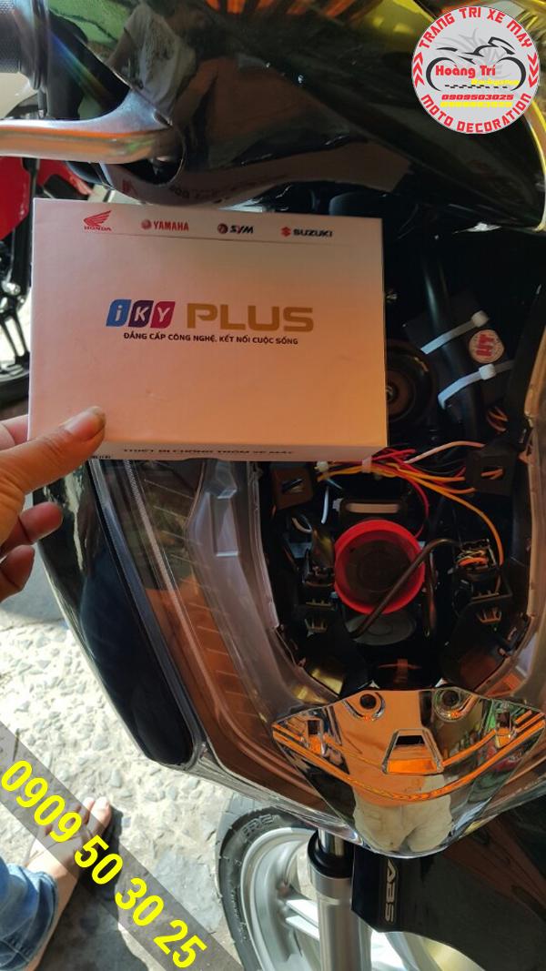 Khóa Iky Plus gắn cho SH 2017